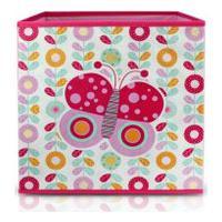 (Pequeninos) Caixa Organizadora Infantil Rosa