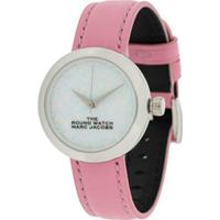 Marc Jacobs Watches Relógio The Round - Rosa