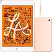 Tablet Apple Ipad Mini 5º Geração 7.9'' Wi-Fi + Cellular 64Gb Dourado Muxh2