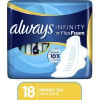 Absorvente Always Infinity Regular 18 Unidades