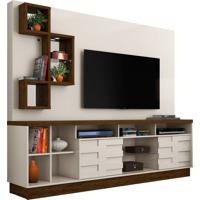 Home Theater Heitor Off White/Savana Madetec