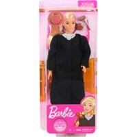 Boneca Barbie Profissões Do Ano Juíza - Mattel