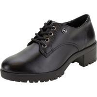 Sapato Feminino Oxford Via Marte - 208006 Preto 37