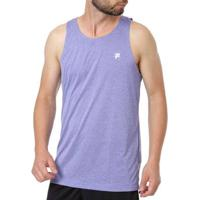 Camiseta Fila Regata Masculina - Masculino-Azul