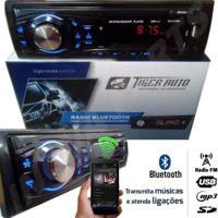 Auto Radio Mp3 Player Fm Aux Usb Sd Bluetooth Automotivo Som