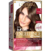 Coloração Imédia Excellence L'Oréal Paris 5 Castanho Claro - Unissex-Incolor