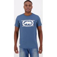Camiseta Ecko Authentic Estampada Azul