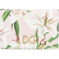 Dolce & Gabbana Porta-Cartões Com Estampa De Lírios - Rosa