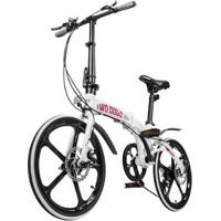 Bicicleta Dobrável Two Dogs Pliage Alumínio - Unissex