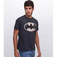 Camiseta Masculina Com Estampa Batman