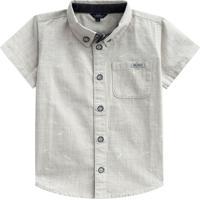 Camisa Aviãµes De Papel- Cinza Claro- Primeiros Passomundi