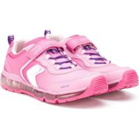 Geox Kids Tênis Com Velcro - Rosa