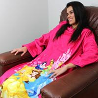 Cobertor Com Mangas Princesas Disney