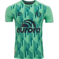 Camisa Da Chapecoense Iii 2019 Umbro - Masculina - Verde/Azul Esc