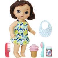 Boneca Baby Alive Sobremesa Magica Morena - Hasbro C1089 C1089
