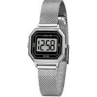 Relógio Lince Feminino Classic Digital - Feminino-Prata