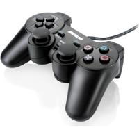 Controle Multilaser Dualshock Preto Js030 Pc