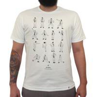 e1d748c538 Camiseta Masculina M Officer. The Office - David Brent Dance - Camiseta  Clássica Masculina