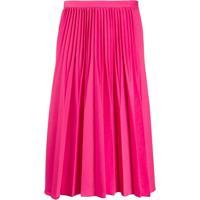 Kenzo Pleated Midi Skirt - Rosa