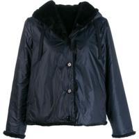 Aspesi Waterproof Hooded Jacket - Azul