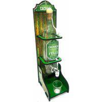 Chopeira Pingômetro Grande Cachaça Rústico Verde 44X15X11Cm