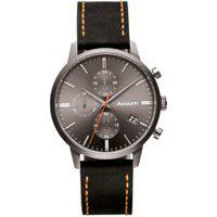 Relógio Akium Masculino Couro Preto - 03K09Ml01A