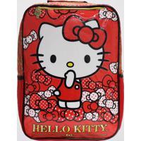 Mochila Hello Kitty Bow (Vermelho, M)
