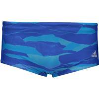 Sunga Adidas 3S Gra Azul