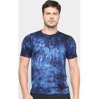 Camiseta Adidas Freelift Parley 3S Masculina - Masculino-Azul