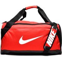 Bolsa Nike Brasilia Duffel Vermelha/Preta