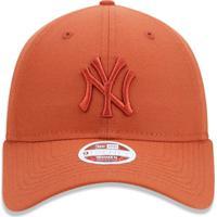 Boné New Era 920 Strapback New York Yankees Laranja