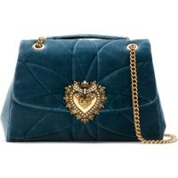 Dolce & Gabbana Bolsa Tiracolo Devotion Grande - Azul