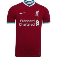 Camisa Liverpool I 20/21 Nike - Masculina - Vermelho/Branco
