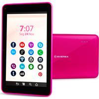 Tablet Everex Quadcore 8Gb Rosa