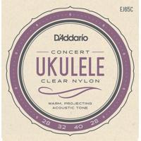 Encordoamento Para Ukulele Consert Daddario Ej65C Nylon