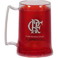 Caneca Gel Flamengo Zico Vermelha