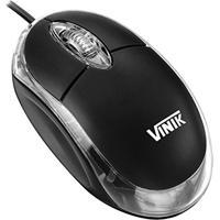 Mouse Óptico Usb Preto - Vinik