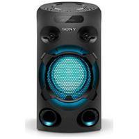Mini System Sony Com Cd, Usb, Iluminação, Karaokê, E Bluetooth - Mhc-V02/B