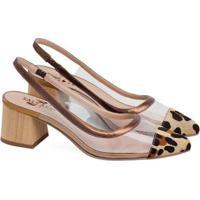 Sapatos Saltare Emily Feminino - Feminino-Dourado