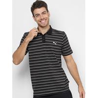Netshoes  Camisa Polo Puma Ess Sports Stripe Pique Masculina - Masculino 44b9fe53f8de2