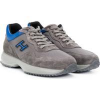 Hogan Kids Teen Interactive Low-Top Sneakers - Cinza