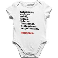 Mulheres - Body Infantil