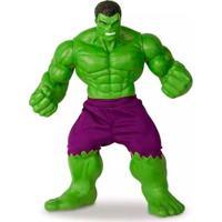 Boneco Gigante - 50 Cm - Disney - Marvel - Revolution - Hulk - Mimo - Unissex-Incolor