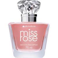 Perfume Feminino Miss Rose Spray Phytoderm Deo Colônia 75Ml - Feminino-Incolor