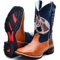 Bota Country Texana Ramon Boots Azul