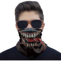 Máscara Bandana Venom Proteção Ciclismo Pesca Paintball