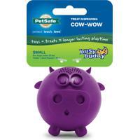 Brinquedo Dispenser Para Cães Fun Cow Em Borracha Vulcanizada Resis.