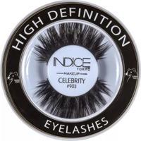 Cílios Postiços Indice Tokyo High Definition Eyelash Black Celebrity - 903 - Unissex-Incolor