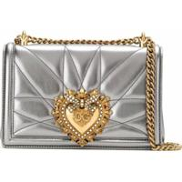 Dolce & Gabbana Bolsa Tiracolo Devotion - Roxo