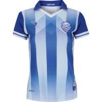 Camisa Do Csa I 2019 Nº 10 Azulão - Feminina - Azul/Branco